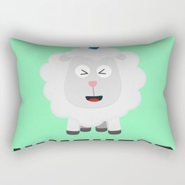 Unicorn Sheep Unisheep B4txe Rectangular Pillow