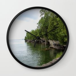 Cave Point County Park Wall Clock