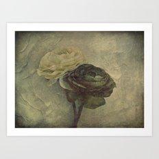 Vintage Blossoms {2} Art Print