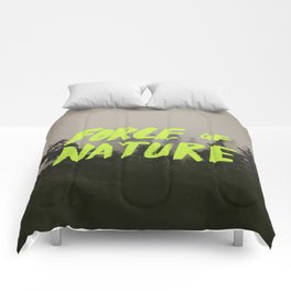Force of Nature x Cloud Forest Comforters
