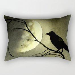 Crow Moon Rectangular Pillow