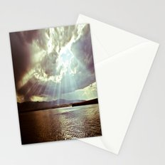 Sun Beams (Warm Tone) Stationery Cards