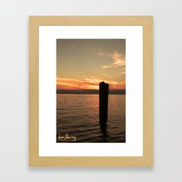 Italian Waters  Framed Art Print