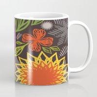 spice Mugs featuring Spice Market by Helen Billett