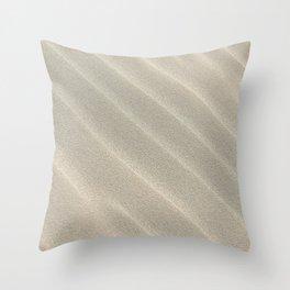 Sand Waves Throw Pillow