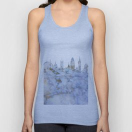 London Skyline Great Britain Unisex Tank Top