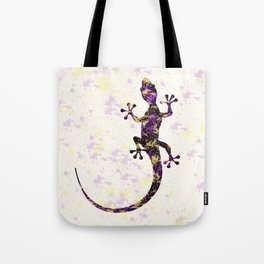 Abstract Lizard Tote Bag