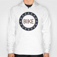 bike Hoodies featuring Bike by Phil Perkins