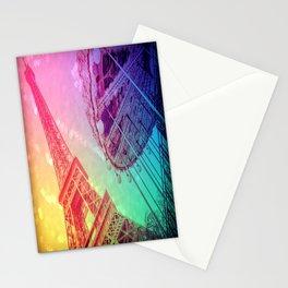 Paris : Rainbow Romance Stationery Cards