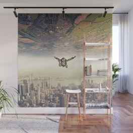 Diving to the Parallel Worlds Wall Mural