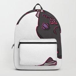 Cat zombie monster girl Backpack