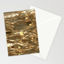 GOLDEN TEXTURE for IPhone Stationery Cards