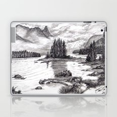 Black and White 3 Laptop & iPad Skin