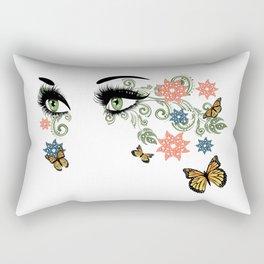 Summer eyes Rectangular Pillow