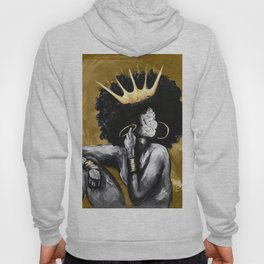 Naturally Queen VI GOLD Hoodie
