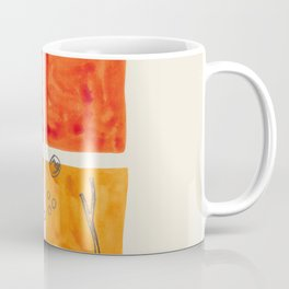 Orange / Sticks & Seeds Coffee Mug
