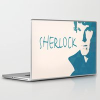 sherlock Laptop & iPad Skins featuring Sherlock by Sunli