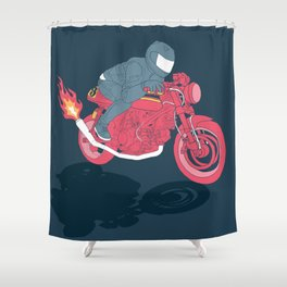 flat Shower Curtain