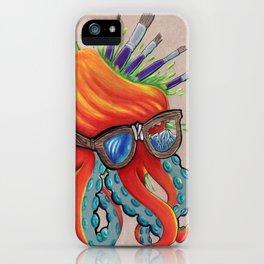 hipsterpuss iPhone Case