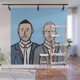 Beard Boy: Marc & Phil Wall Mural