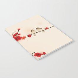 Oriental plum blossom in spring 007 Notebook