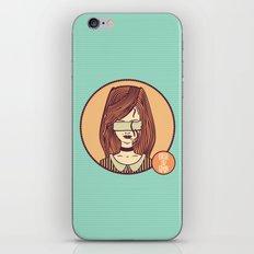 self-portrait (colored) iPhone & iPod Skin