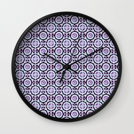 Floor Series: Peranakan Tiles 94 Wall Clock