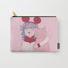 Girl&Cat Carry-All Pouch