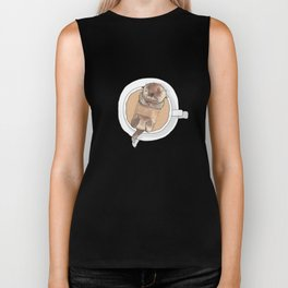 The Tea Otter Biker Tank