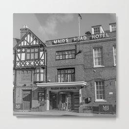 Maids Head Hotel, Norwich Metal Print