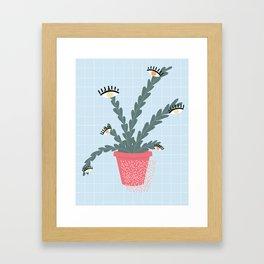 that good looking fern Framed Art Print