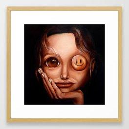 """""""Entertain me twice"""" Framed Art Print"""
