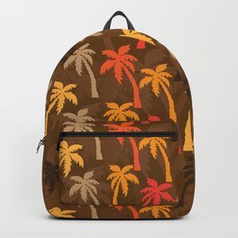 palm brown Backpack