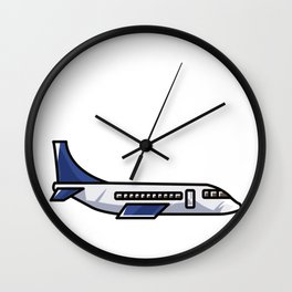 Just a Boy who likes Airplain Wall Clock