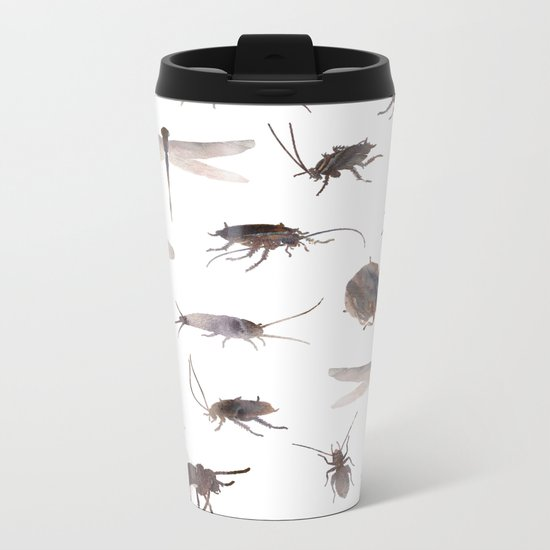 Insects Mix Metal Travel Mug