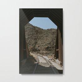 Tunnel #10 Metal Print