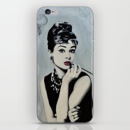 Hepburn iPhone Skin