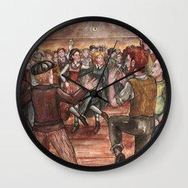 Irish workers bar in Brooklyn, 1914 Wall Clock