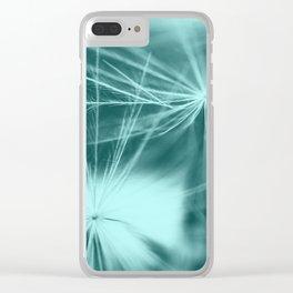 dandelion art 2 Clear iPhone Case