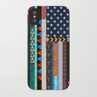 boho iPhone & iPod Cases featuring Boho America by Schatzi Brown