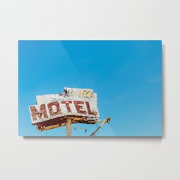 The Rustic Motel  Metal Print