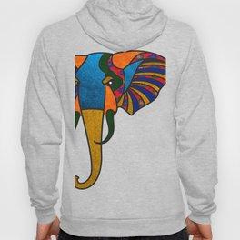 Primary Retro Elephant Hoody