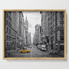 NEW YORK CITY Fifth Avenue Serving Tray