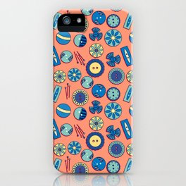 Button Box iPhone Case