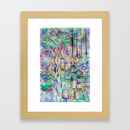 Abstract - Colour pattern Framed Art Print