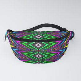 Colorful New Years Fanny Pack