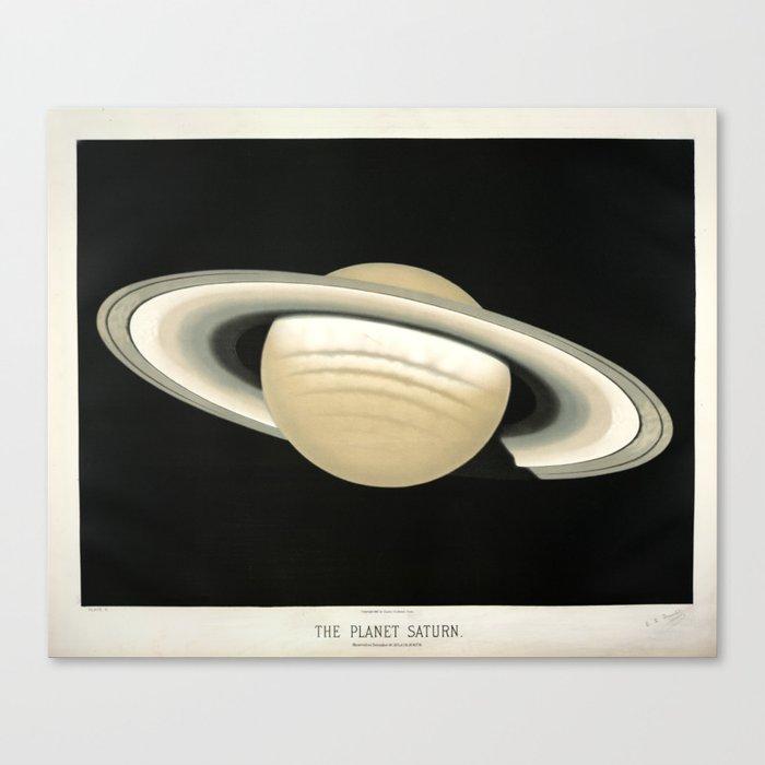 Saturn by Étienne Léopold Trouvelot (1874) Leinwanddruck
