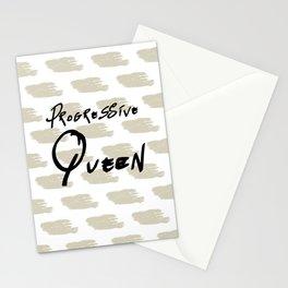 Progressive Queen Digital Design-Oatmeal Stationery Cards