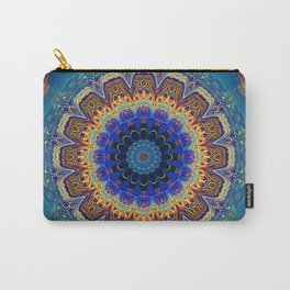 Very Bohemian Bright Mandala Carry-All Pouch