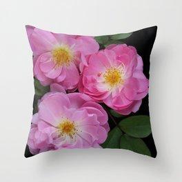 English Rose Collection Throw Pillow